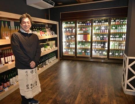 ①まずは「三重の地酒」専門店でお好きな日本酒をお選びいただきます