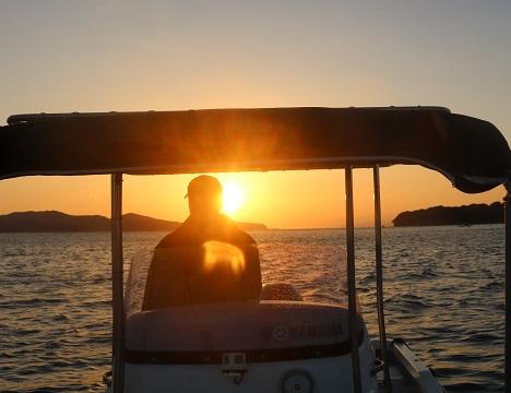 海の事を熟知する船長が英虞湾の見どころをご案内いたします!